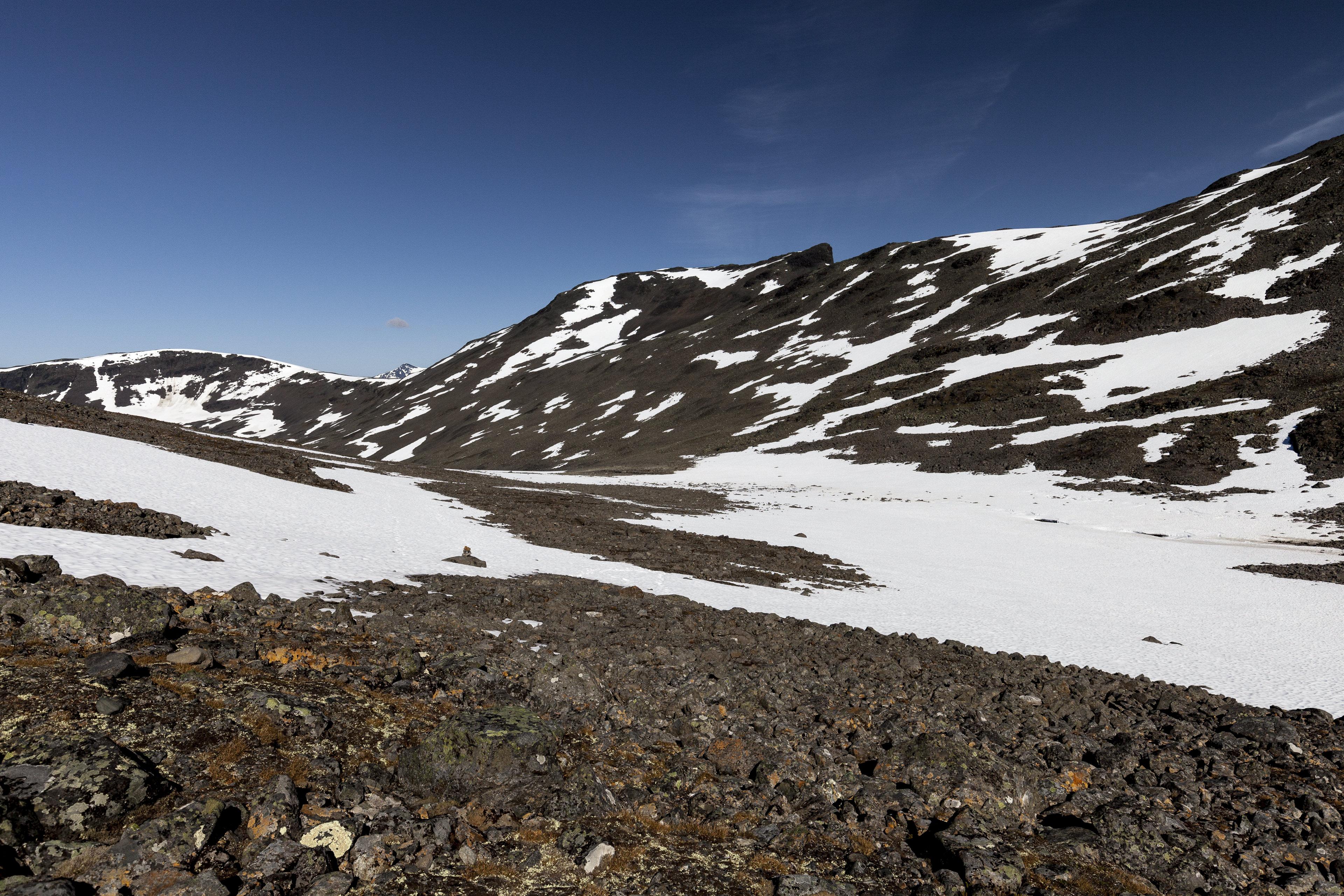 Aufstieg durch das Seitental des Sinnivággi,©Markus Proske—Canon EOS 5D Mark II, EF16-35mm f/4L IS USM, 22mm, 1/800s, Blende 8, ISO 200