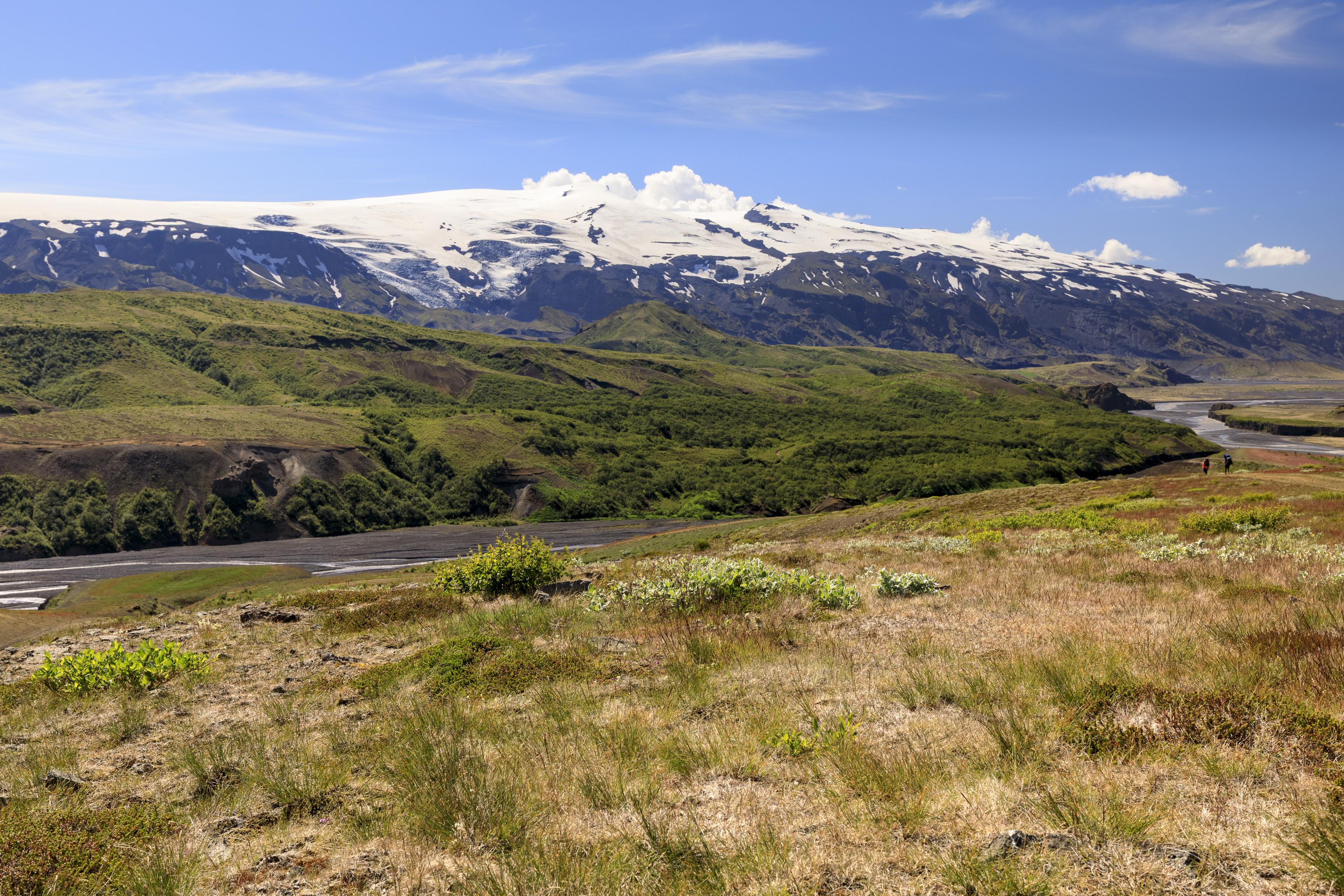 Þórsmörk, Eyjafjallajökull, Þröngá und Markarfljót