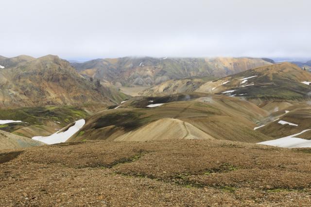 Weg in Richtung Brennisteinsalda, im Hintergrund Suðurnámur,©Markus Proske—Canon EOS 5D Mark IV, EF16-35mm f/4L IS USM, 35mm, 1/160s, Blende 11, ISO 200