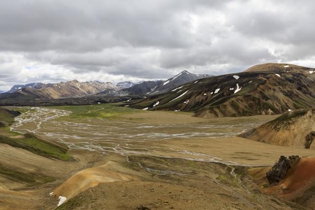 Tag 10:  Hellismannaleið – Landmannalaugar nach Landmannahellir (17 km)