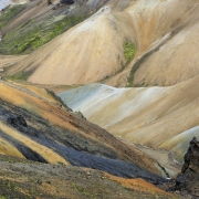 Aufstieg von Landmannalaugar in Richtung Skalli