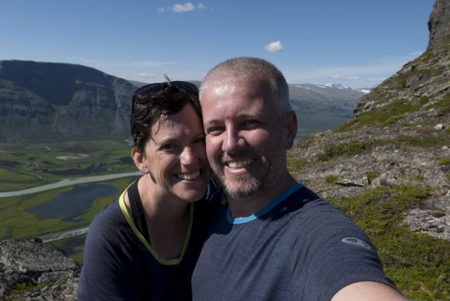 Wir zwei beim Skierffe,©Markus Proske—Panasonic DMC-LX100, 24mm, 1/1000s, Blende 6.3, ISO 200