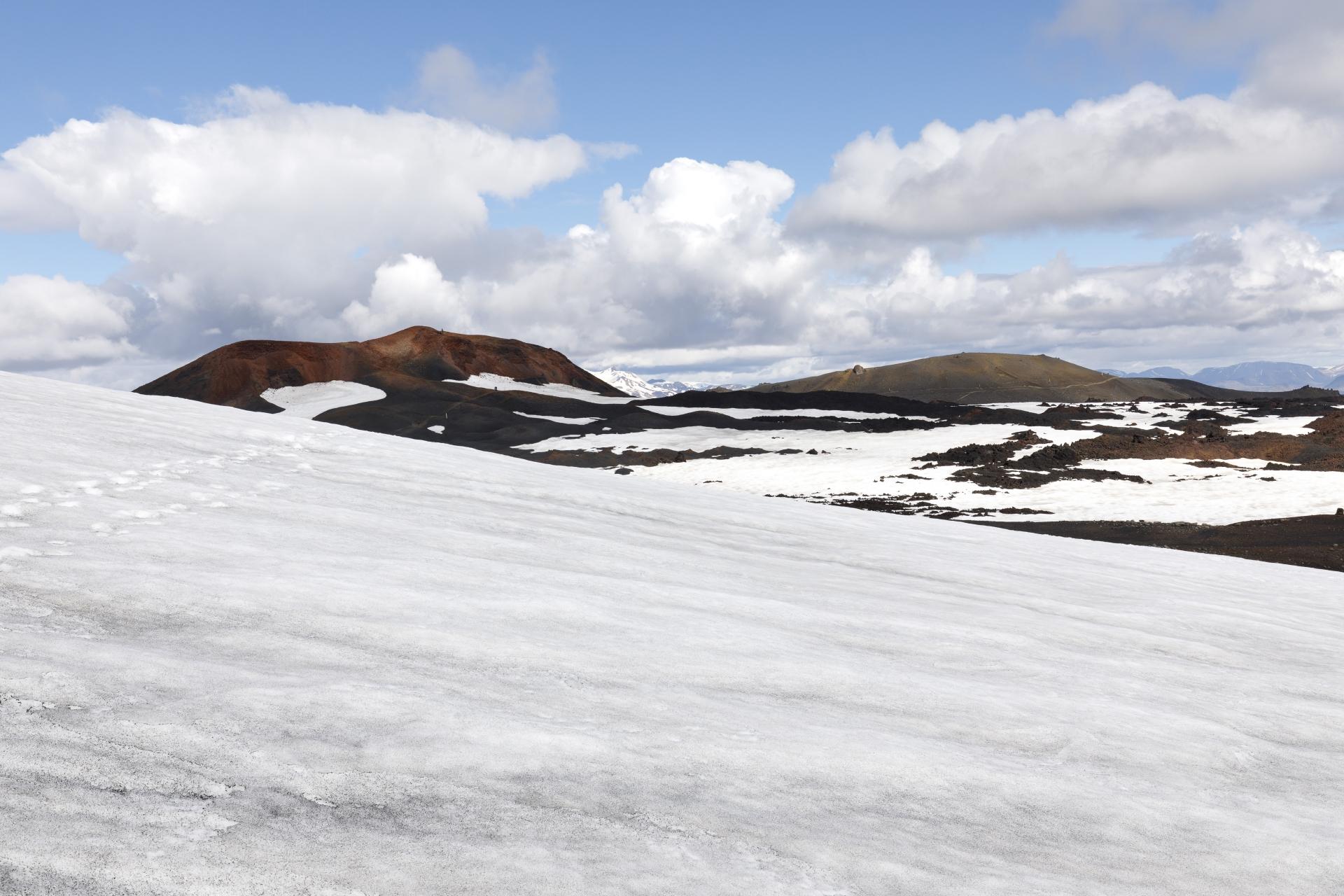 Magni, Brattafönn und das Lavafeld Goðahraun