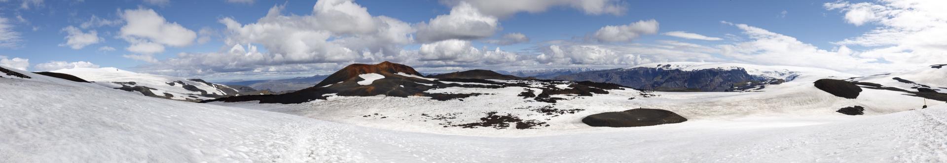 Eyjafjallajökull, Magni, Goðahraun, Mýrdalsjökull
