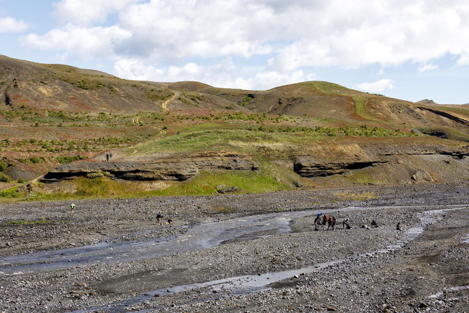 Þröngá Furtstelle