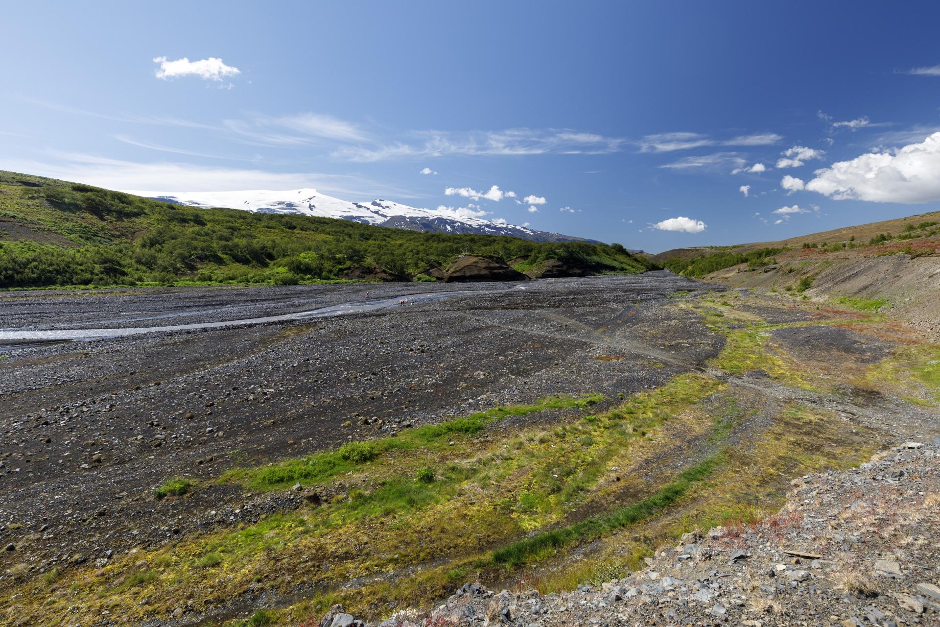 Þröngá ,Þórsmörk und Eyjafjallajökull