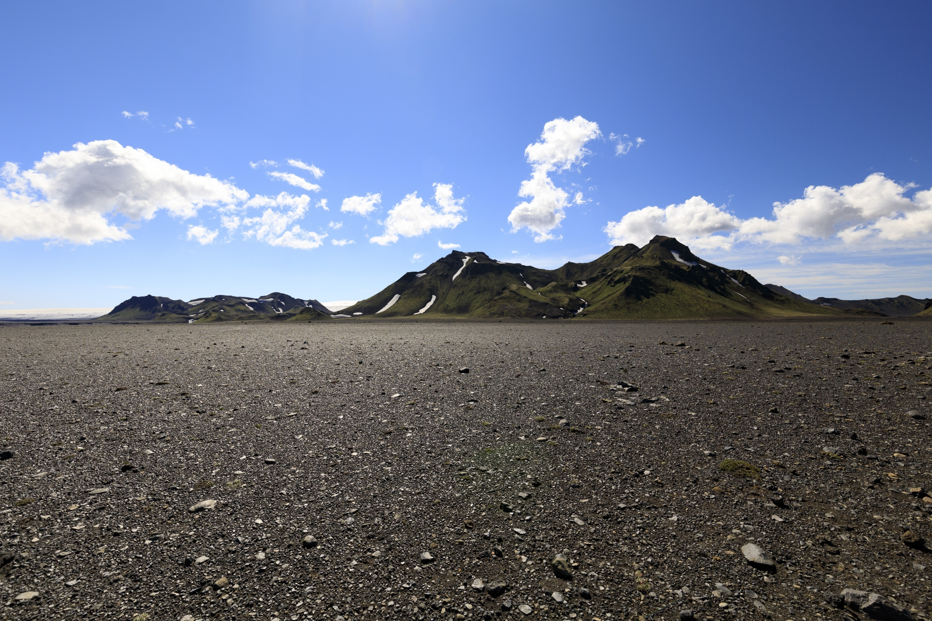 Mælifellssandur und Smáfjallarani