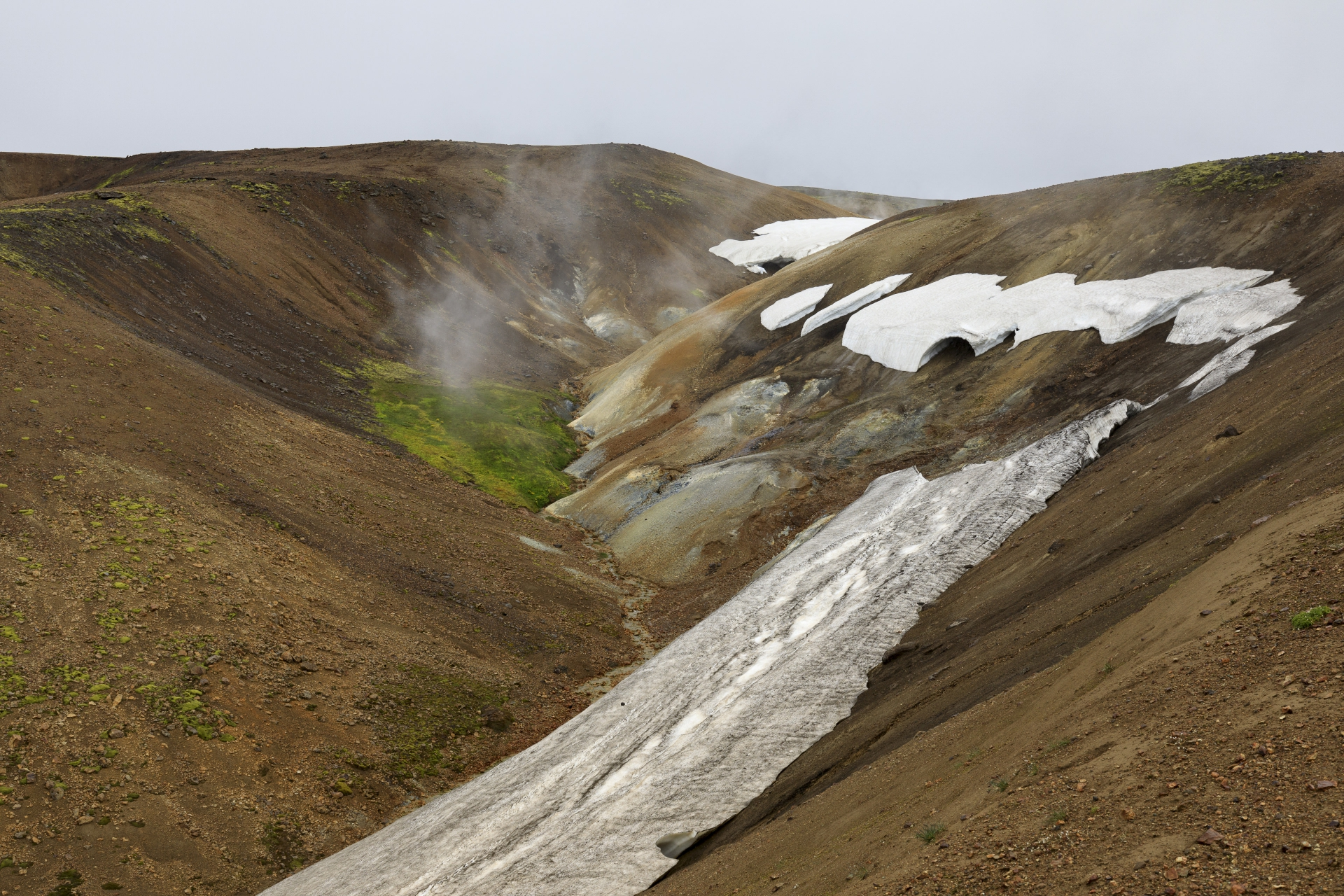 Geothermalgebiet am Fuß des Kaldaklofsfjöll
