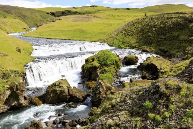 Wasserfall der Skógá,©Markus Proske—Canon EOS 5D Mark IV, EF16-35mm f/4L IS USM, 35mm, 1/100s, Blende 11, ISO 200
