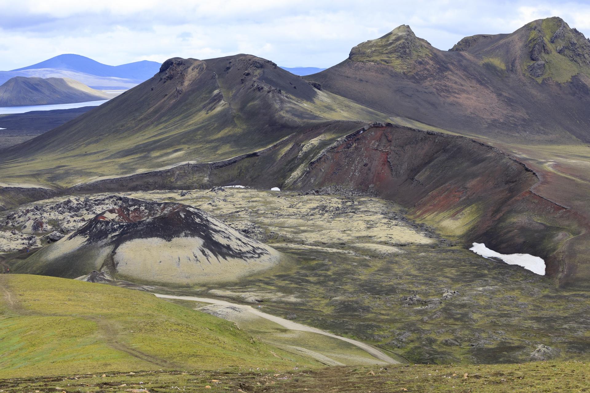 Stútur, Norðurnámshraun und Norðurnámur
