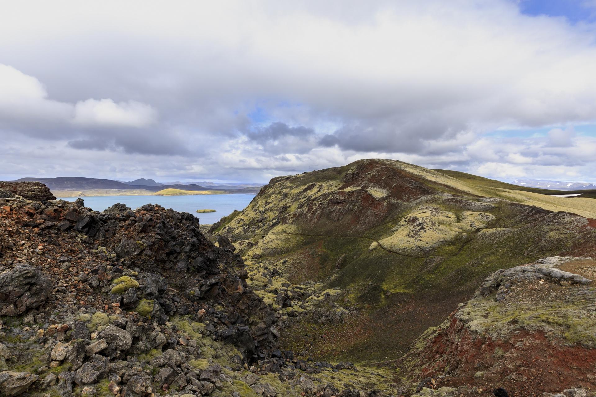 Frostastaðavatn und Suðurnámshraun