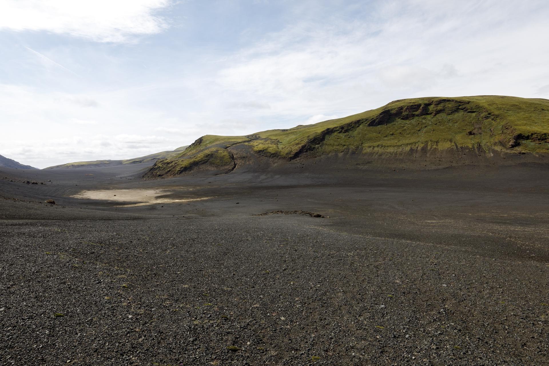 Tal zwischen Valafell und Valahnúkar