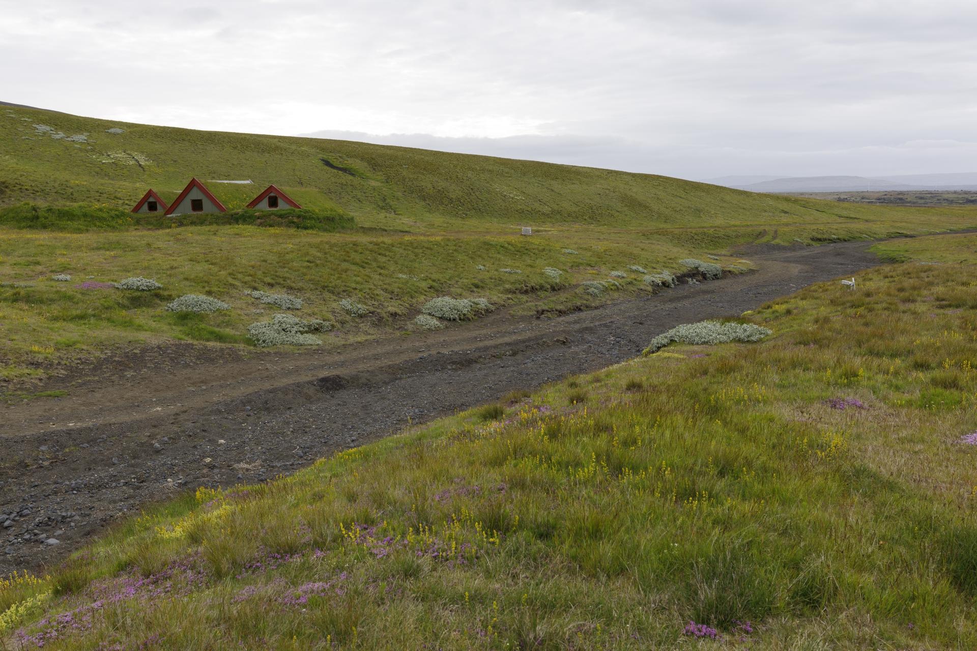 Die Hütten von Áfangagil