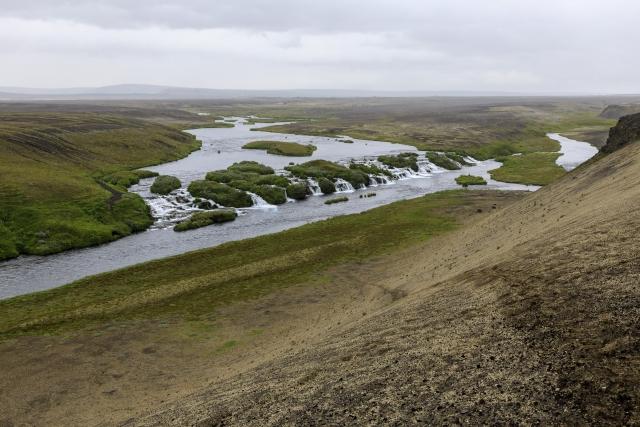 Tag 12: Hellismannaleið – Áfangagil nach Rjupnavellir (17km)