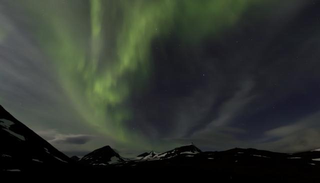 Nacht 4: Nordlichter / Aurora borealis