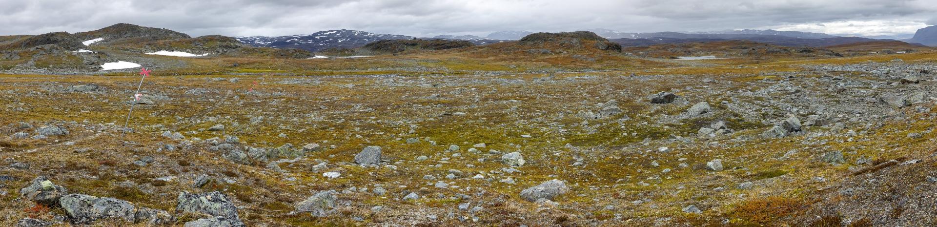 Der Weg über das Plateau