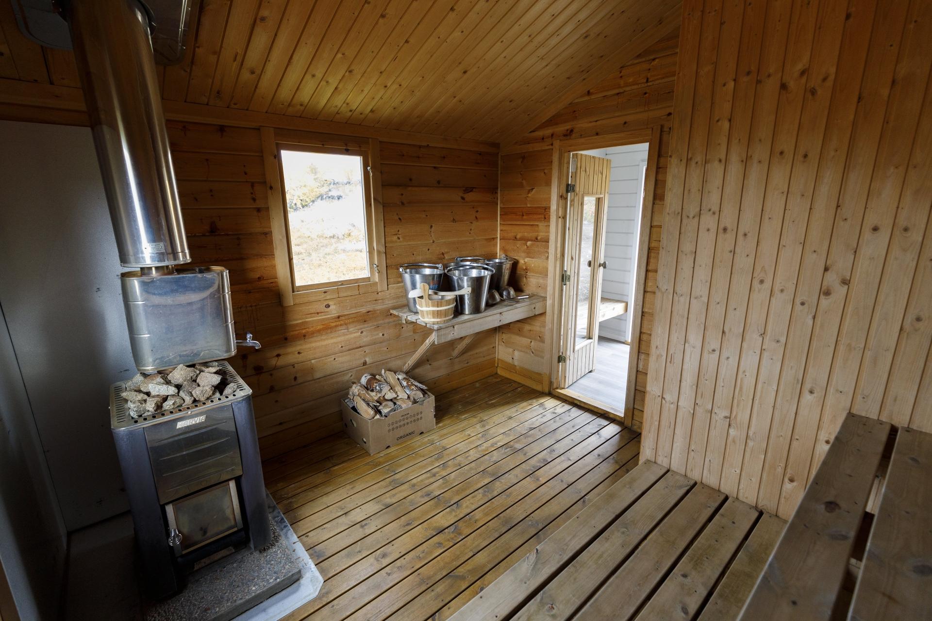 Sauna (Bastu) in Unna Allakas