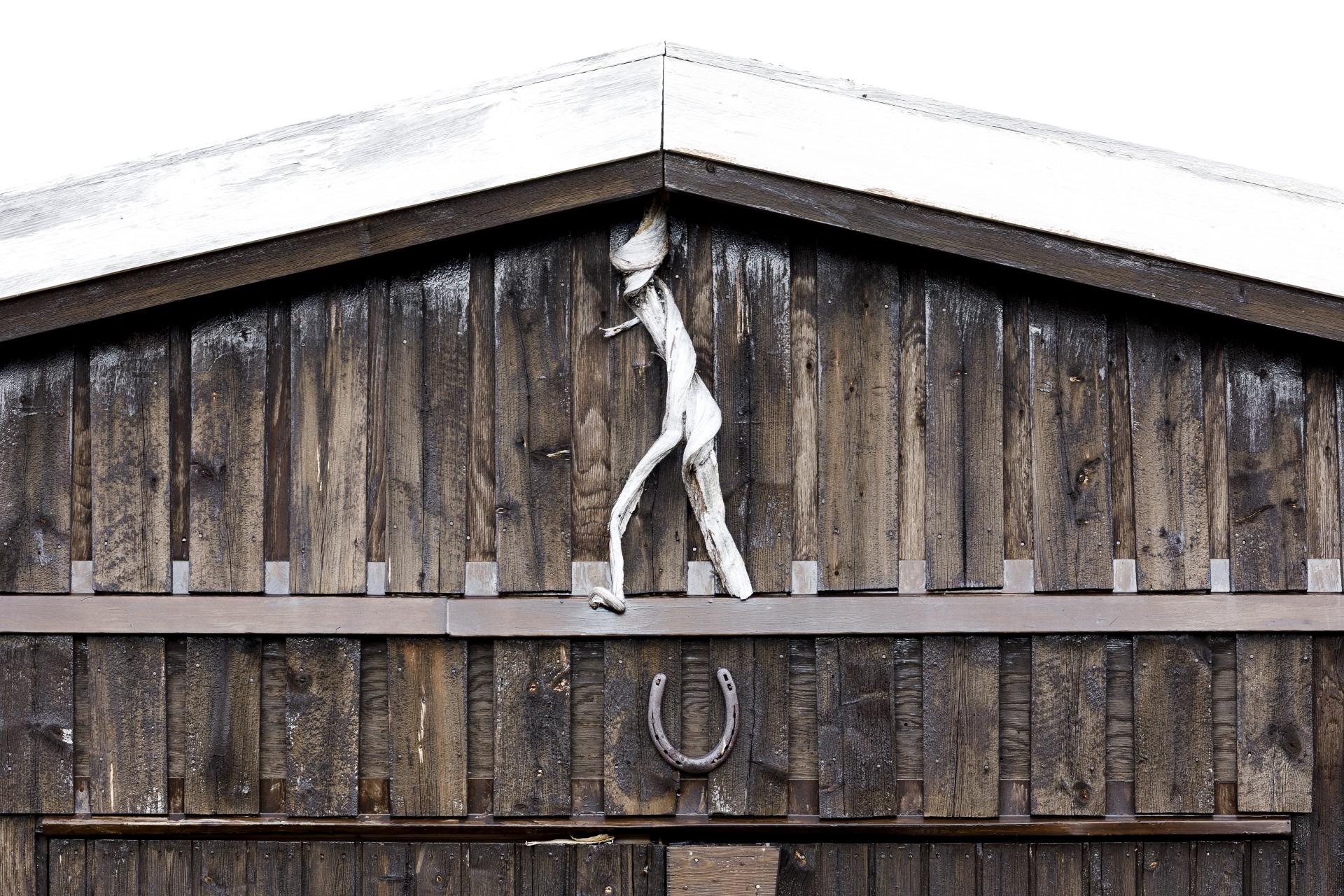 Holzhütte in Unna Allakas
