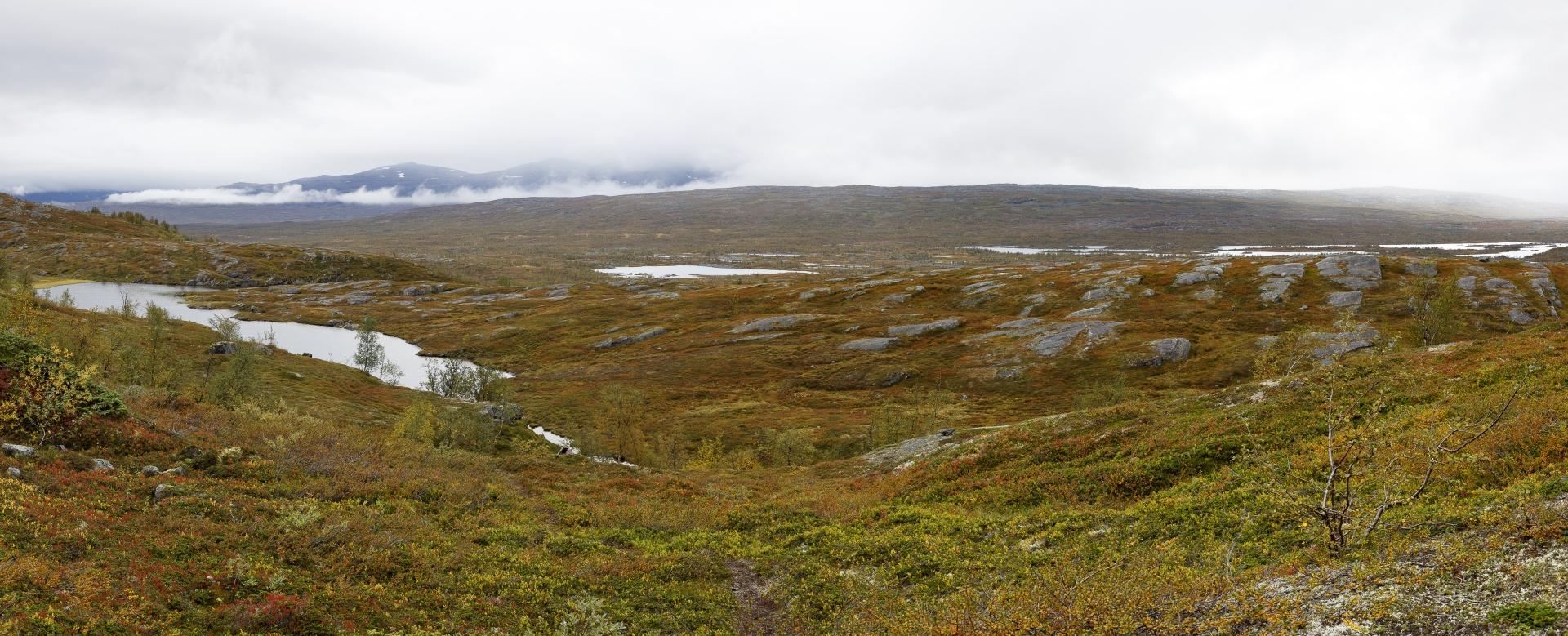 Flußlandschaft des Sårgåjåhkå