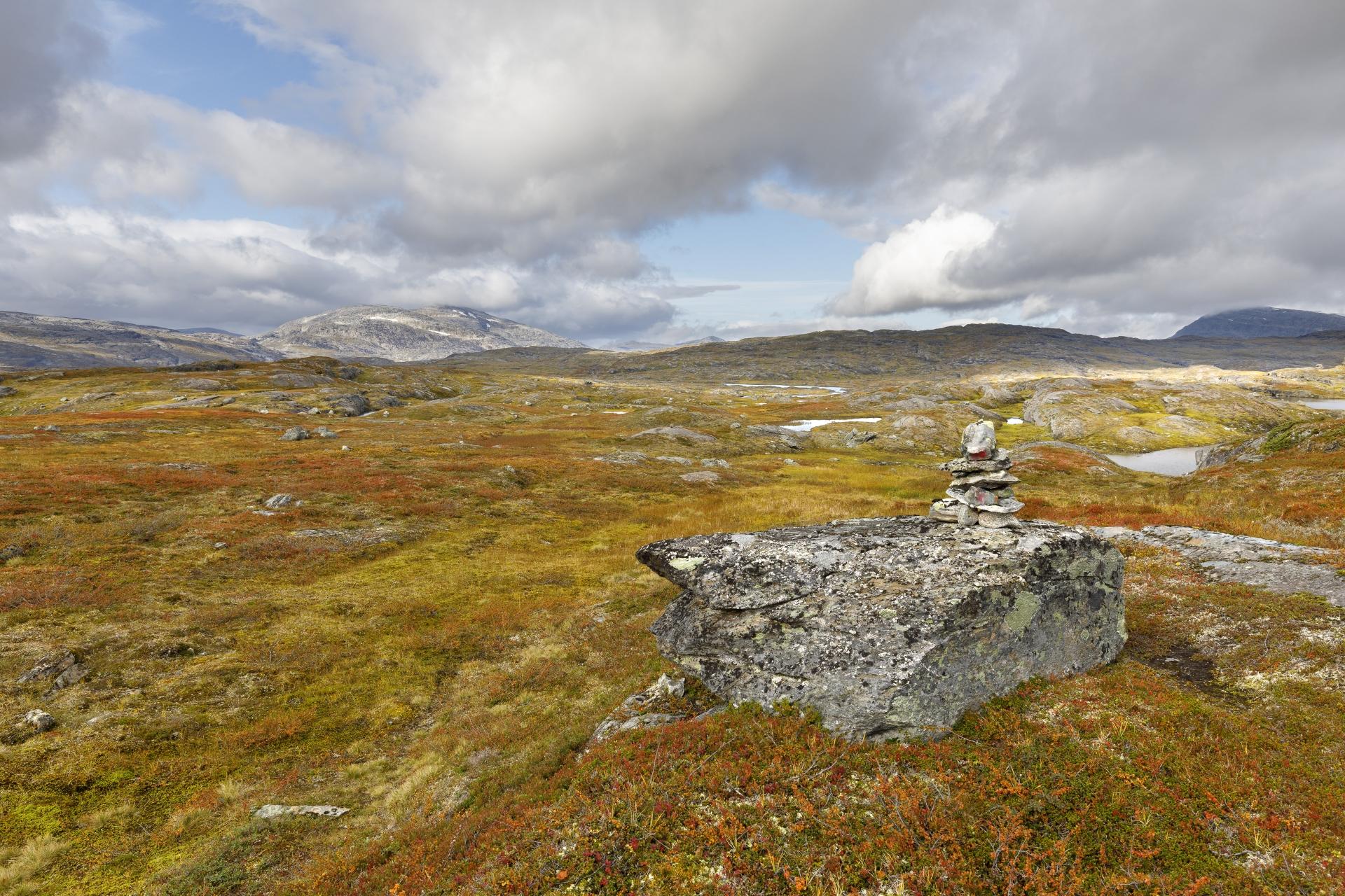 Knapp 2 km bis Norwegen!