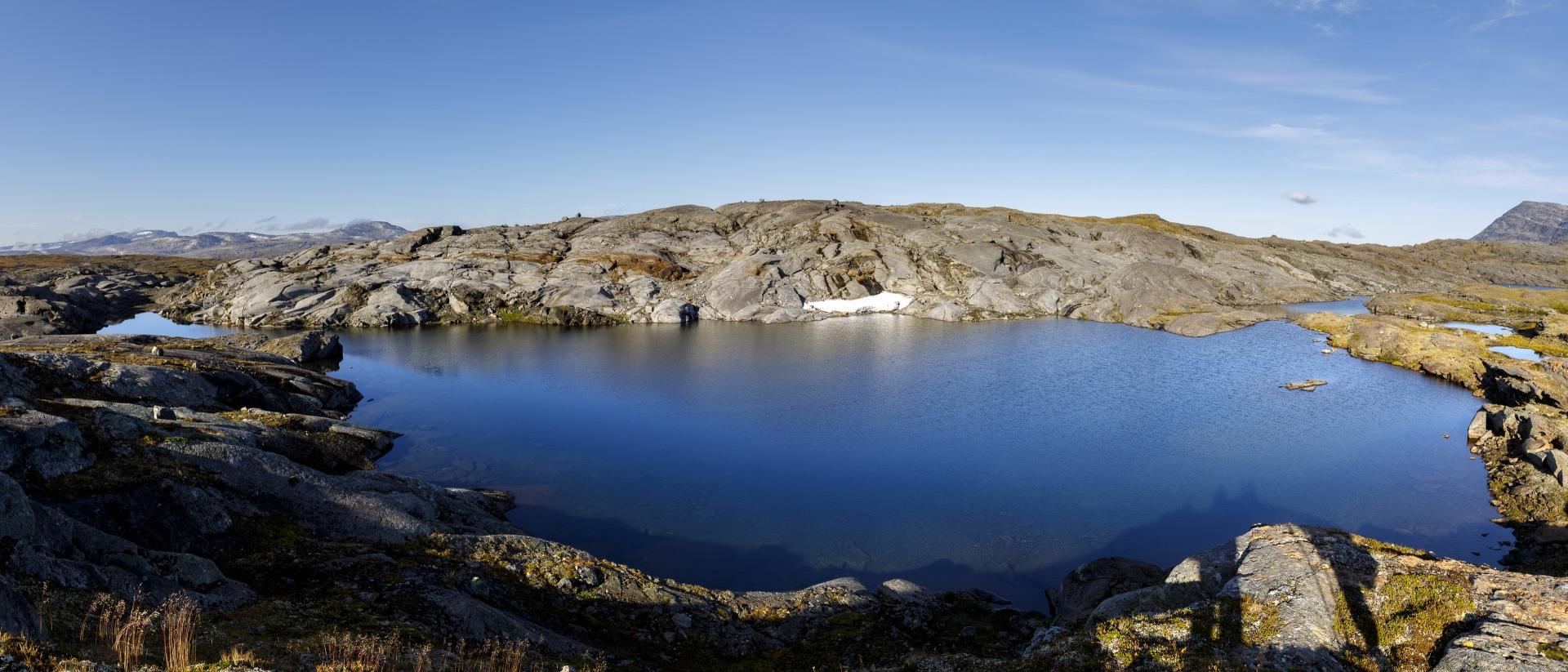 Namenloser See süd-östlich des Bjørnvatnet