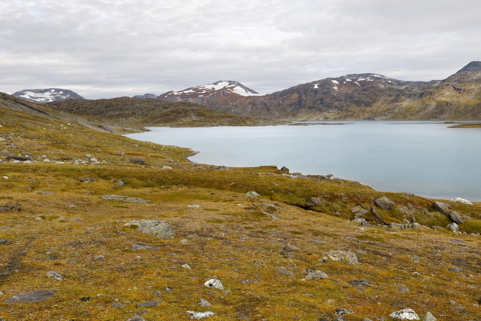 Bovrojávri und Paurofjellet